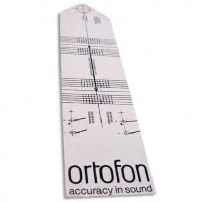 Ortofon Alignment Tool Protractor